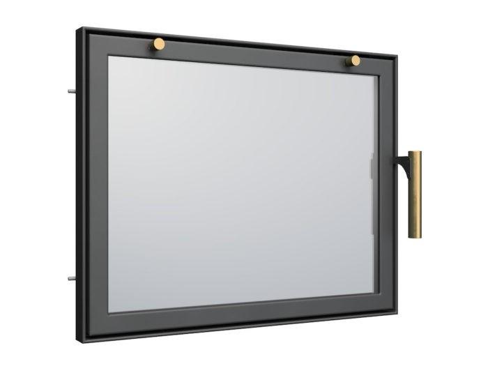 Drzwi do kominka AD3 - proste 1