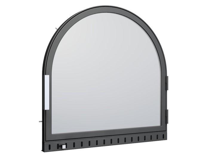 Drzwi kominkowe - AF3 półokrągłe