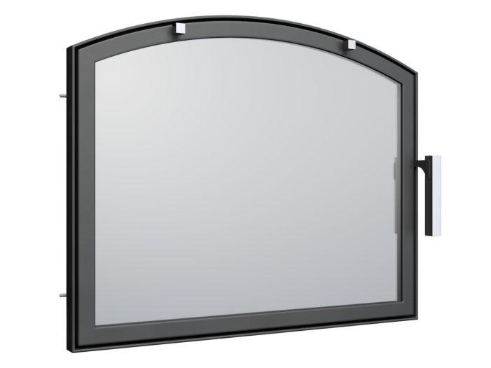 Drzwi kominkowe na wymiar - AD3 łuk